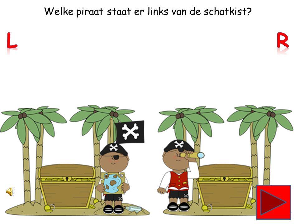Welke piraat heeft zijn ooglap voor zijn linkeroog
