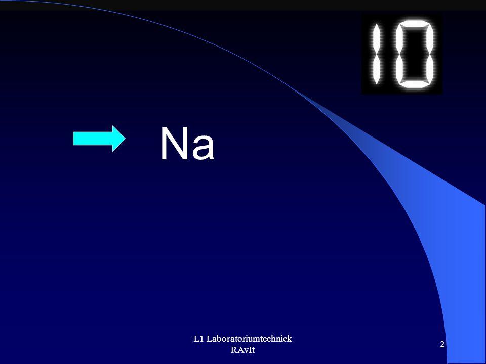 L1 Laboratoriumtechniek RAvIt 2 Na