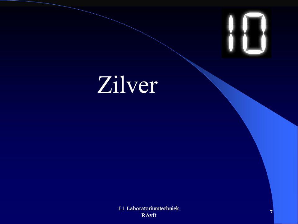 L1 Laboratoriumtechniek RAvIt 7 Zilver