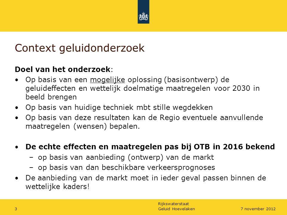 Rijkswaterstaat Geluid Hoevelaken47 november 2012 1.