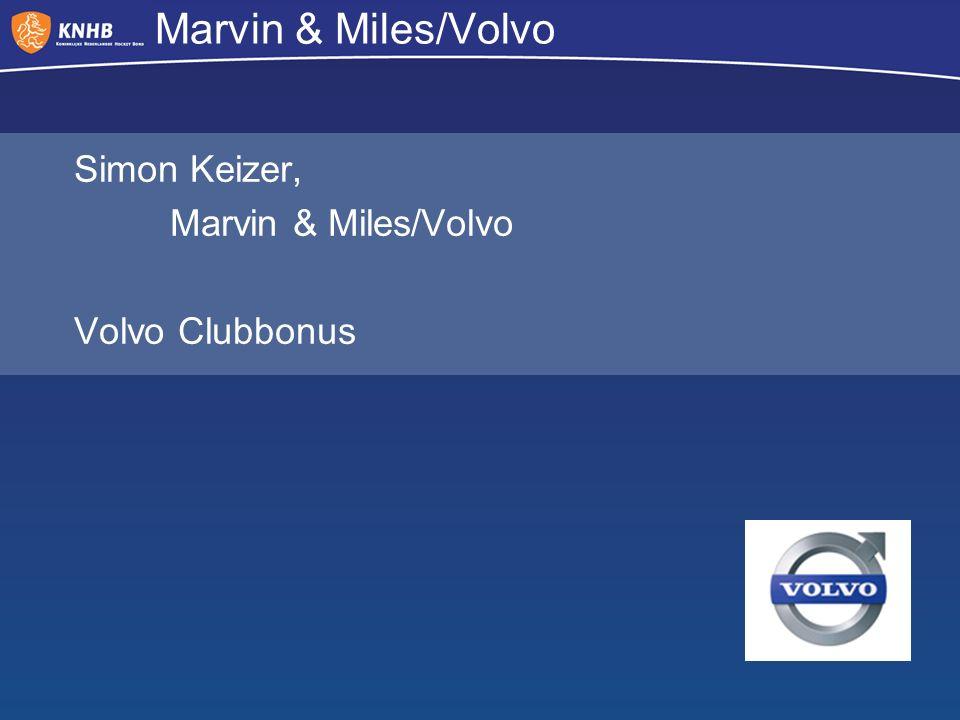 Marvin & Miles/Volvo Simon Keizer, Marvin & Miles/Volvo Volvo Clubbonus