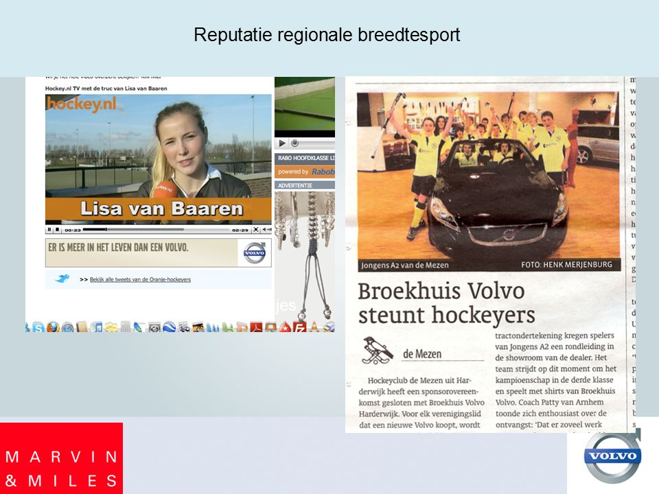 Reputatie regionale breedtesport G-Hockeyhesjes