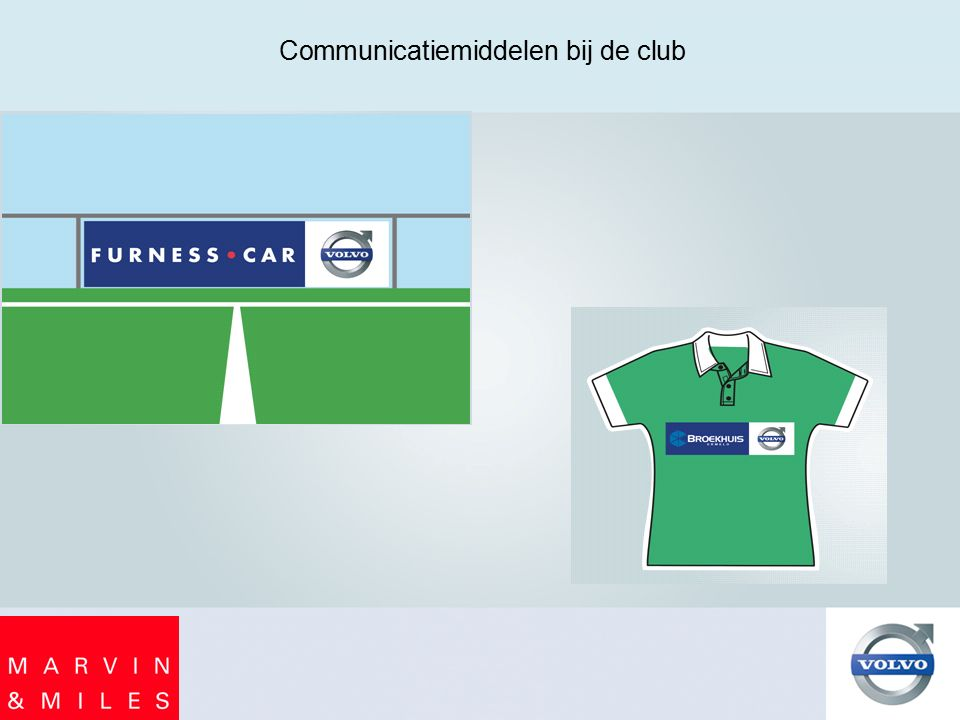 Communicatiemiddelen bij de club