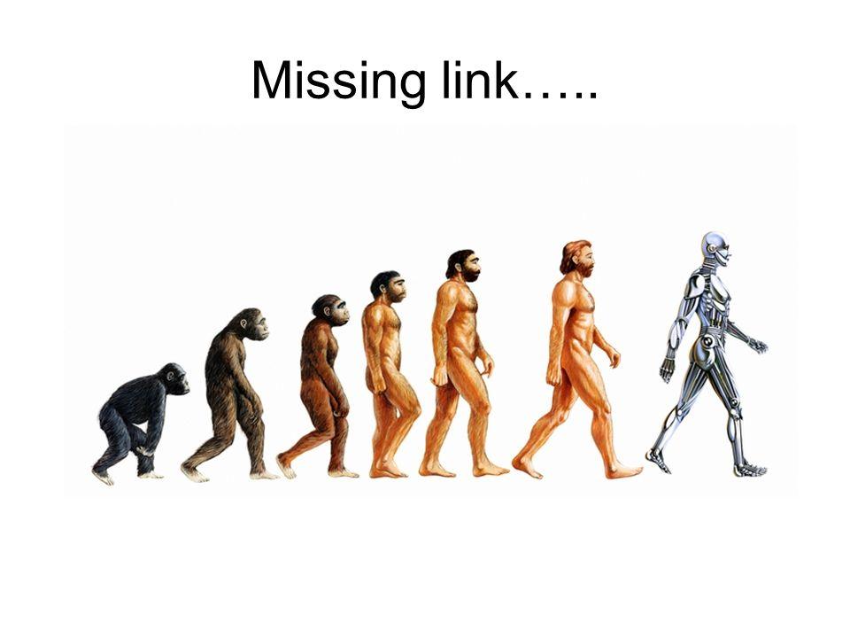 Missing link…..