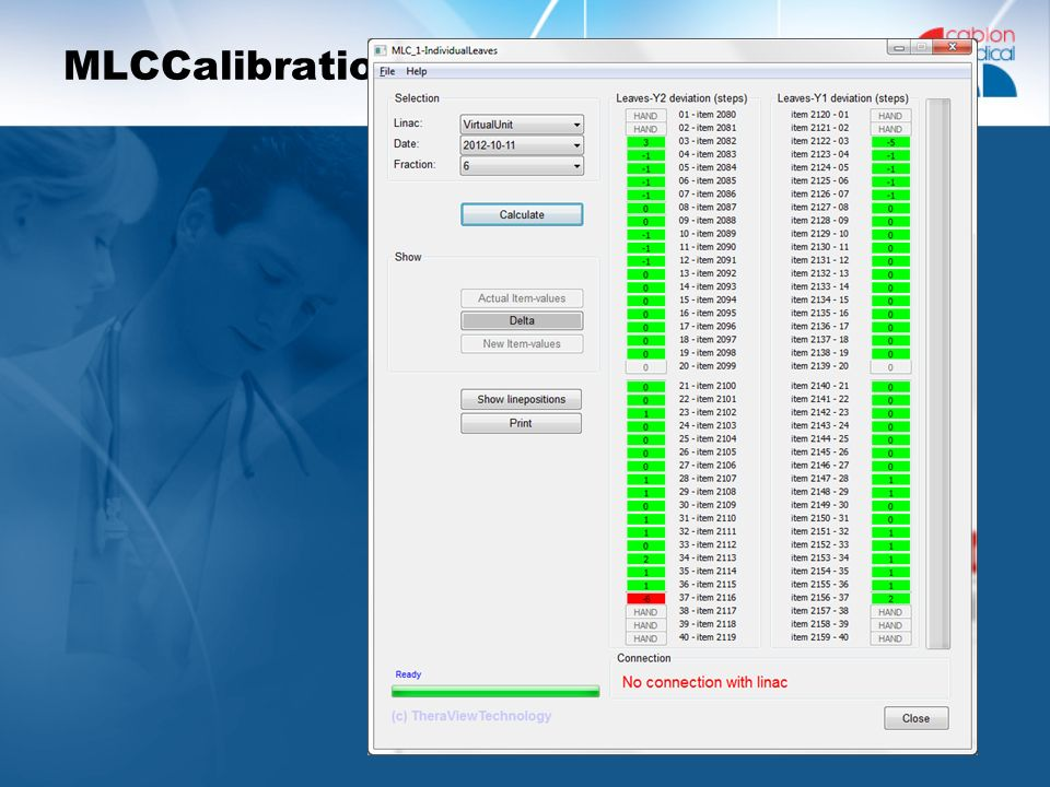 MLCCalibration