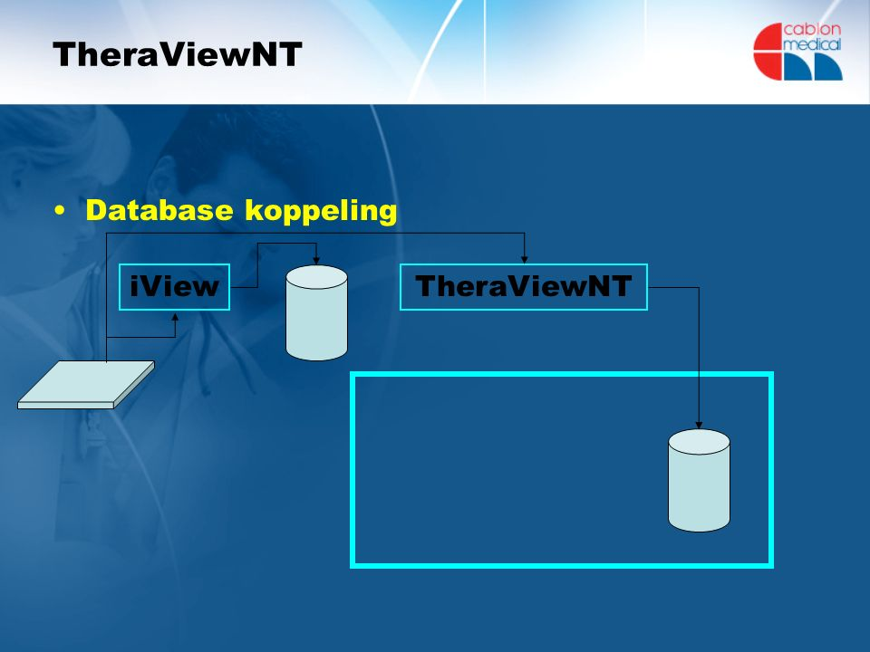 TheraViewNT Database koppeling TheraViewNTiView
