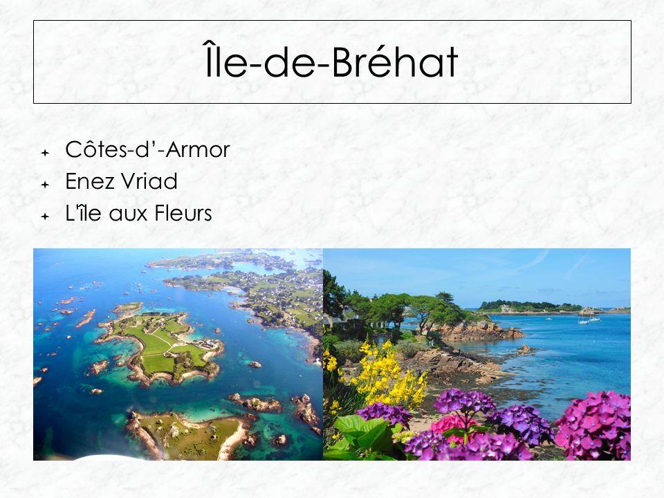Île-de-Bréhat  Côtes-d'-Armor  Enez Vriad  L île aux Fleurs