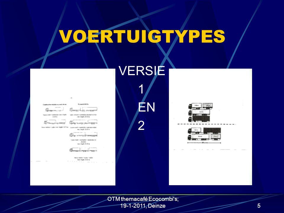VOERTUIGTYPES VERSIE 1 EN 2 OTM themacafé Ecocombi s; 19-1-2011, Deinze5