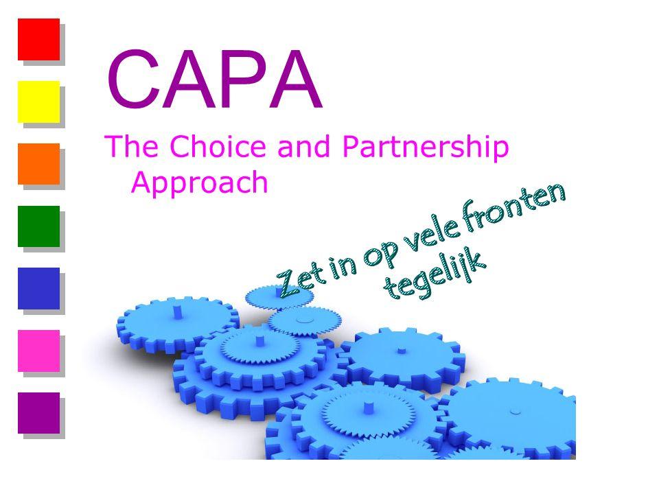 CAPA The Choice and Partnership Approach