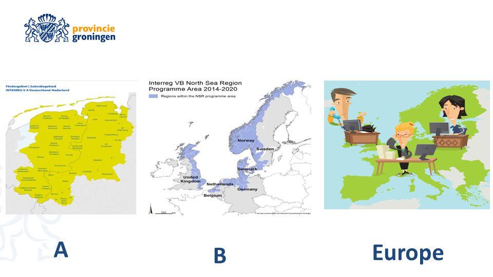 INTERREG A,B, EUROPE