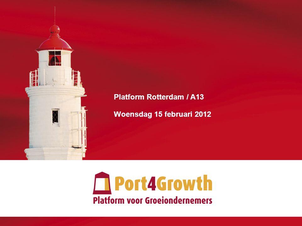 1 Platform Rotterdam / A13 Woensdag 15 februari 2012