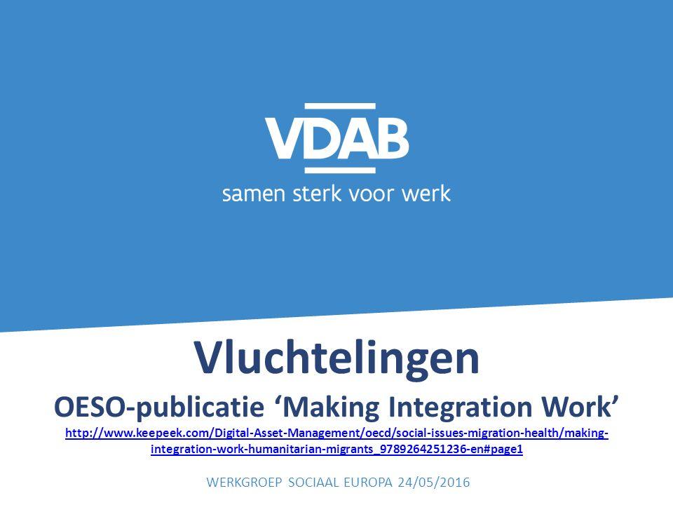 Vluchtelingen OESO-publicatie 'Making Integration Work' http://www.keepeek.com/Digital-Asset-Management/oecd/social-issues-migration-health/making- in