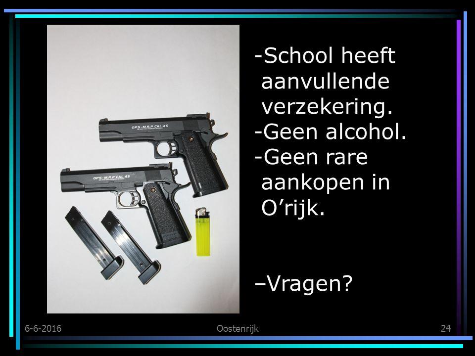 6-6-2016Oostenrijk24 -School heeft aanvullende verzekering.