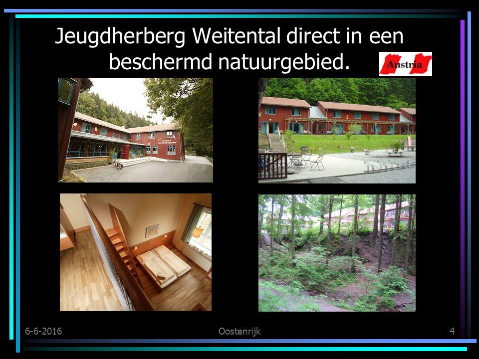 6-6-2016Oostenrijk4 Jeugdherberg Weitental direct in een beschermd natuurgebied.