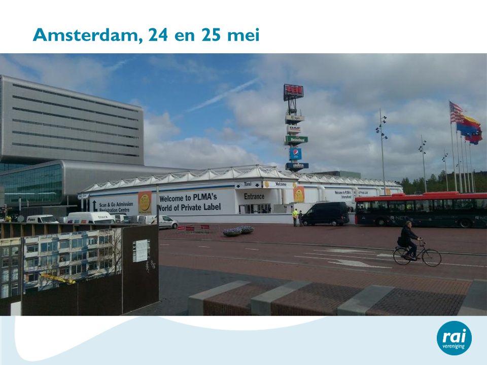Amsterdam, 24 en 25 mei