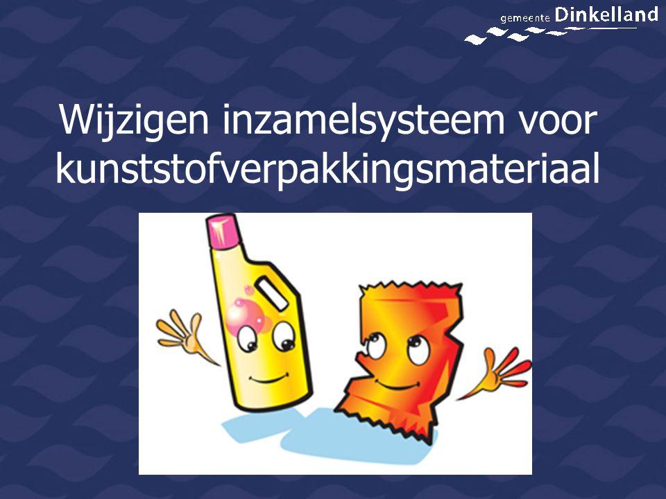 2010 en 2011 Brengsysteem volgens afspraak en budgettair neutraal Twente MilieuVergoeding afvalfonds Inzameling per ton € 475,--Per ton € 475,-- Transport per ton € 12,-- Totaal € 487,-- Opbrengst/kosten Dinkelland € 0,00 2010 opbrengst: 98,945 ton2011 opbrengst: 120 ton Besparing kosten verbranding: 2010: 98,945 x € 116,-- per ton = 'opbrengst' € 11.442,-- 2011: 120 x € 116,-- per ton = 'opbrengst' € 13.920,--