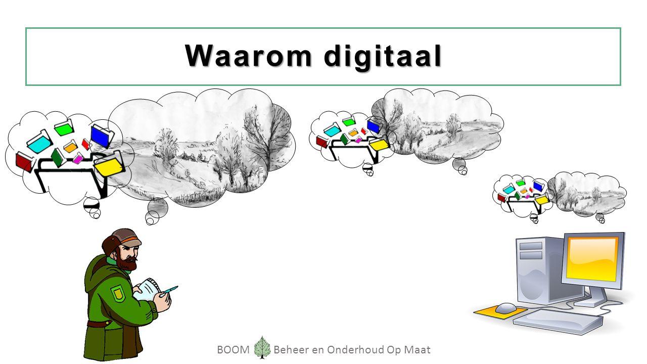 BOOM Beheer en Onderhoud Op Maat Waarom digitaal