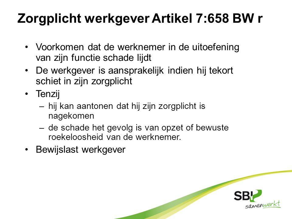 Verplichtingen werknemers art.11 a: arbeidsmiddelen en gevaarlijke stoffen op de juiste manier te gebruiken b: pers.