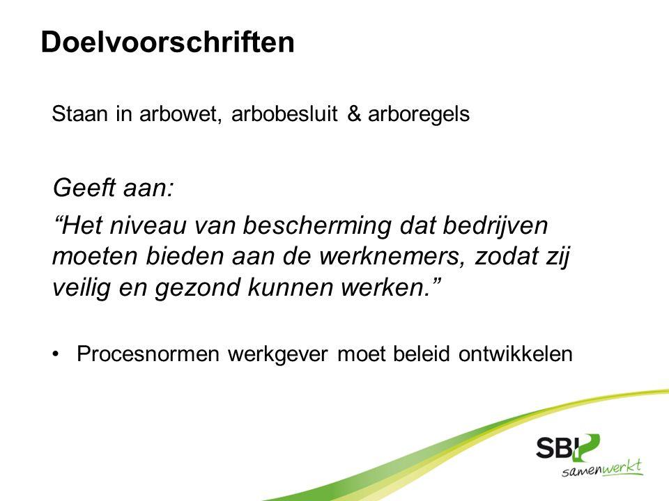 Preventiemedewerkers art.13 Dragen zorg voor dagelijkse veiligheid binnen het bedrijf.