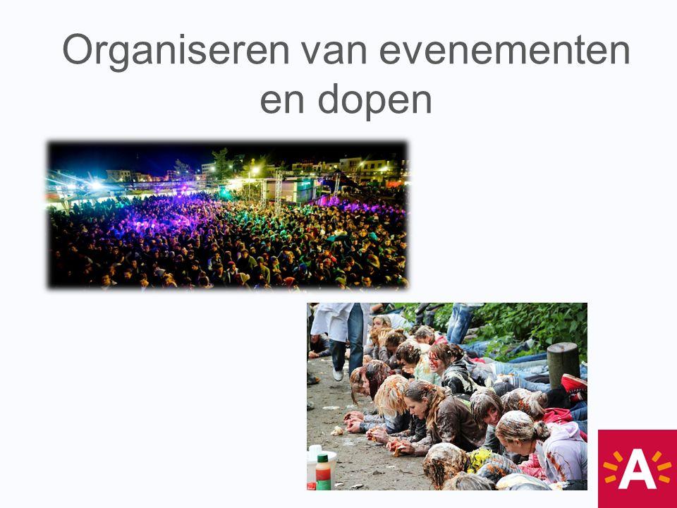 Organiseren van evenementen en dopen