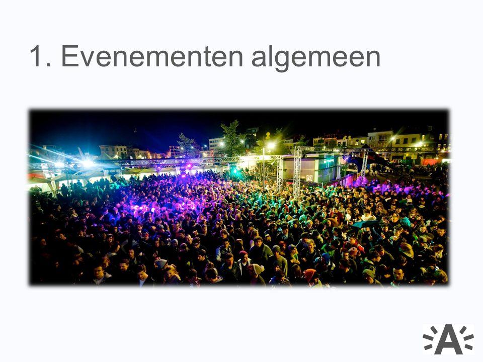 1. Evenementen algemeen