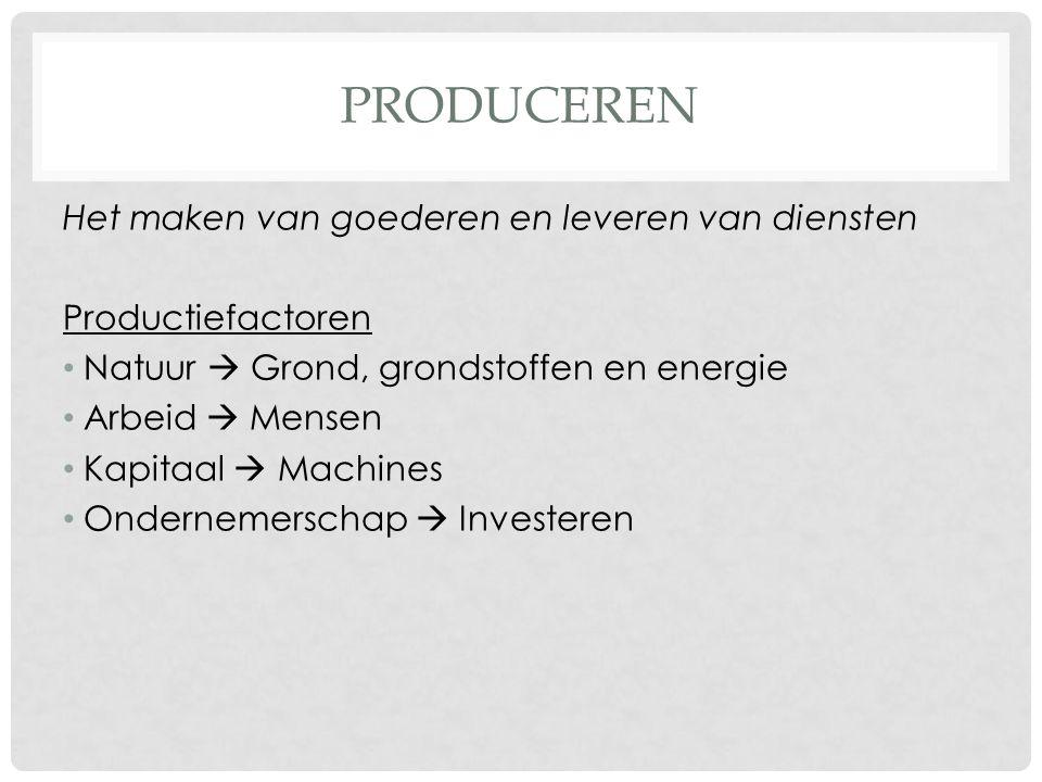 BEDRIJFSKOLOM Weg van begin(oer)producent tot winkelier https://www.youtube.com/watch?v=Q_af5U092fU Hoe korter de bedrijfskolom, hoe goedkoper het product.