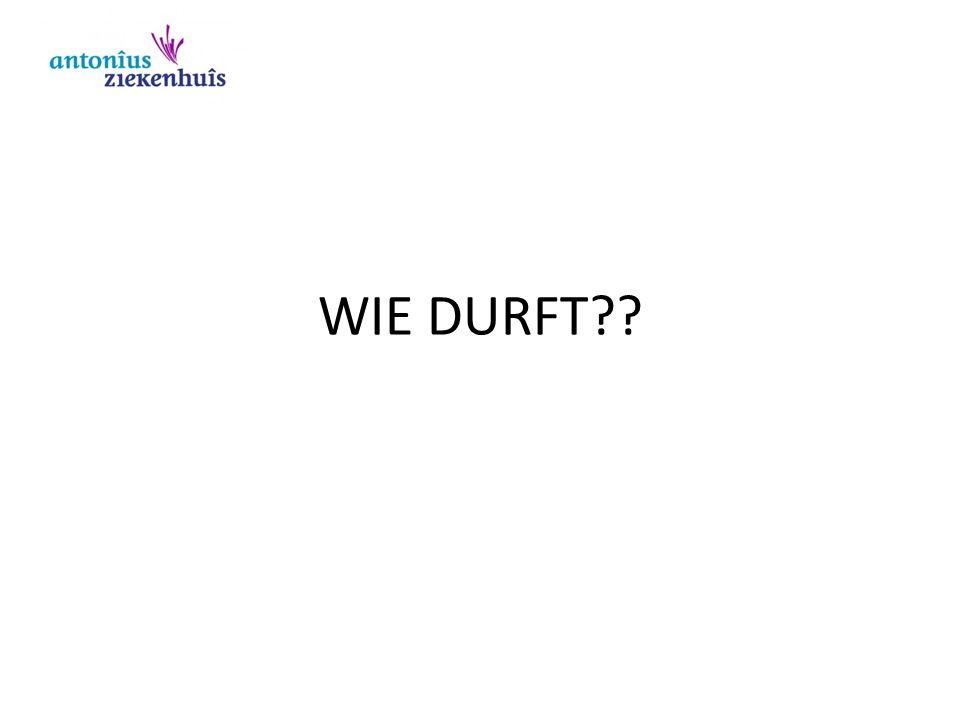 WIE DURFT??