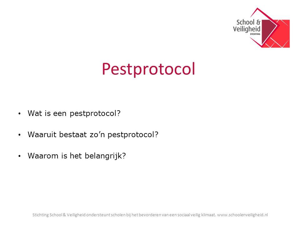 Pestprotocol Wat is een pestprotocol. Waaruit bestaat zo'n pestprotocol.