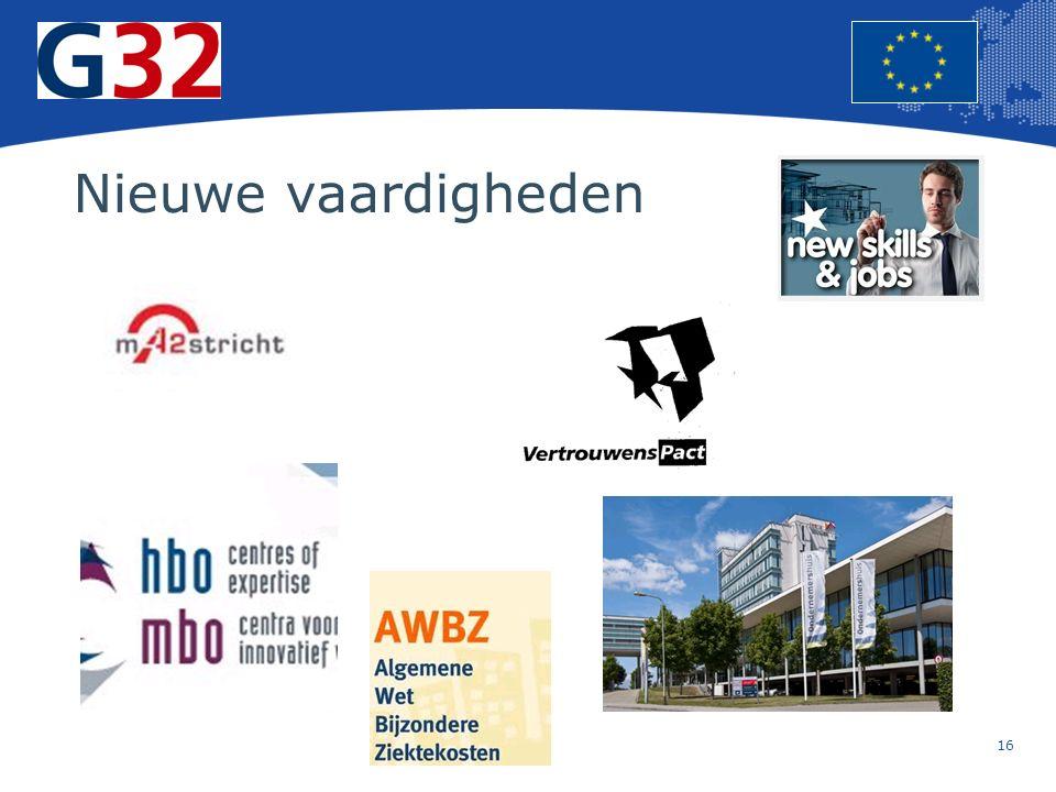 16 Europese Unie Regionaal Beleid – Werkgelegenheid, sociale zaken en insluiting Nieuwe vaardigheden