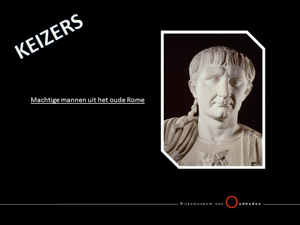Machtige mannen uit het oude Rome