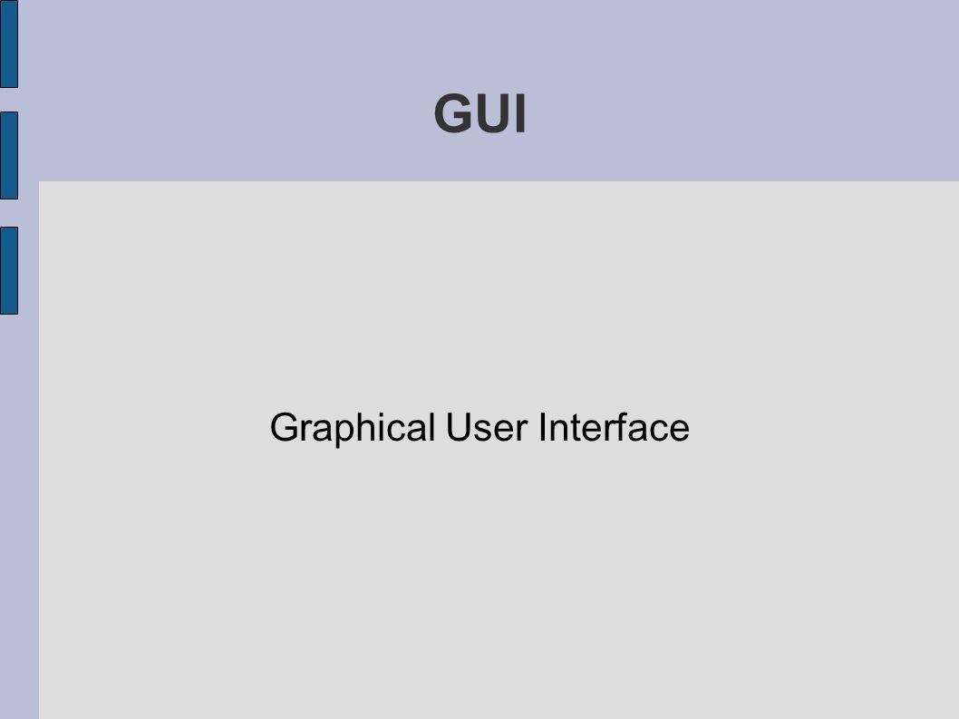 Wat is een Graphical User Interface Mooi Gebruiksvriendelijk Veel denkwerk