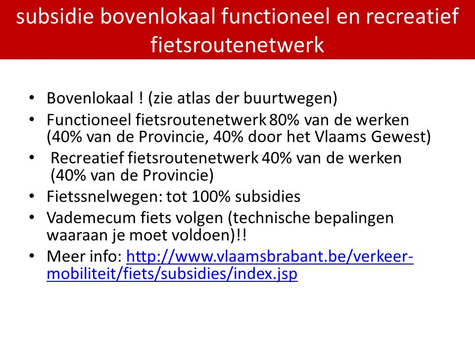PDPOIII 2014-2020 Bovenlokaal .