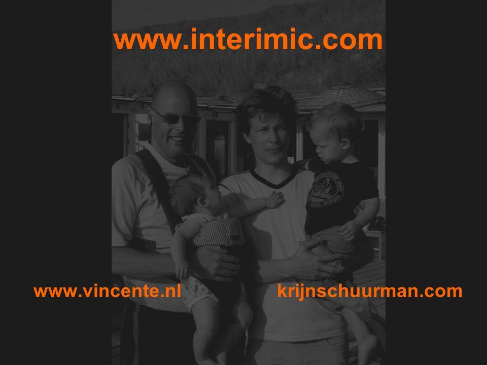 www.interimic.com www.vincente.nl krijnschuurman.com