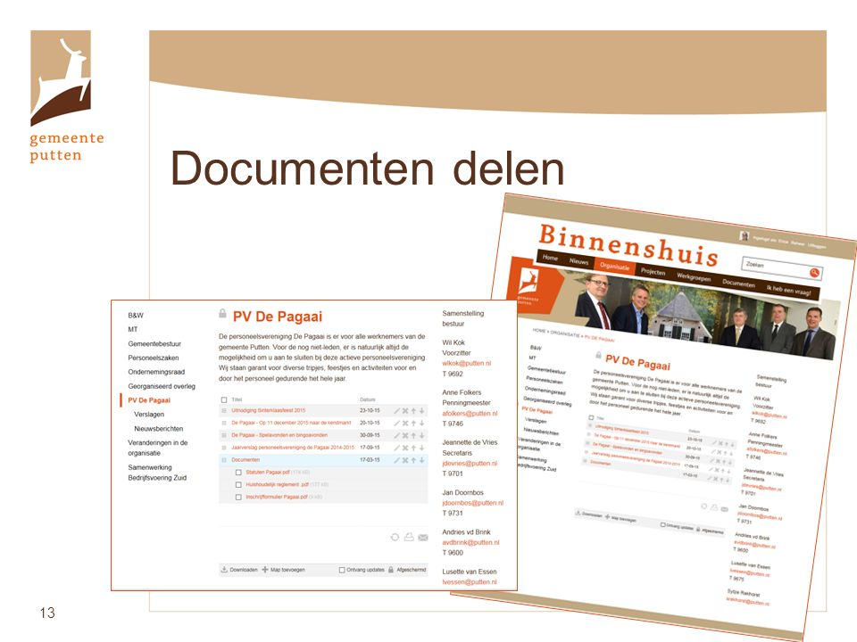 Documenten delen 13