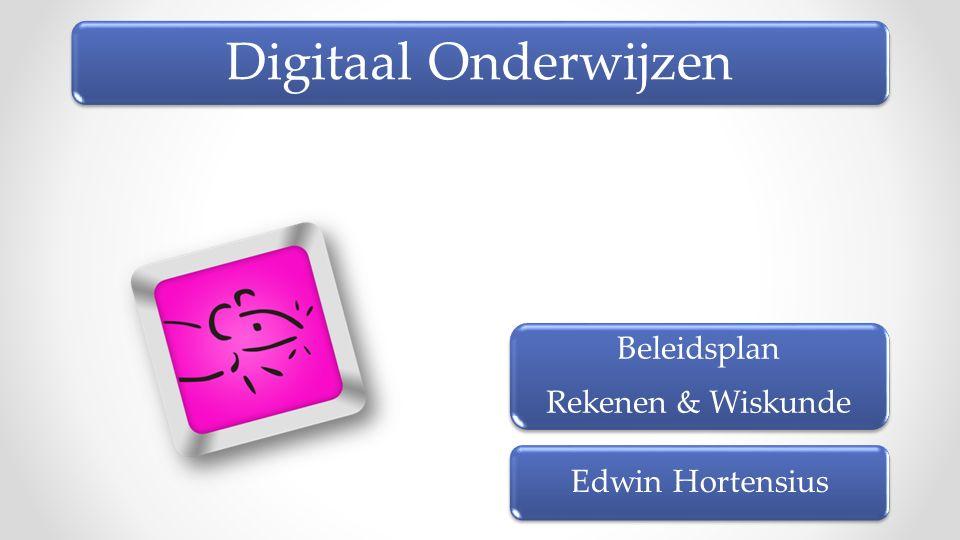 Beleidsplan Rekenen & Wiskunde Edwin Hortensius