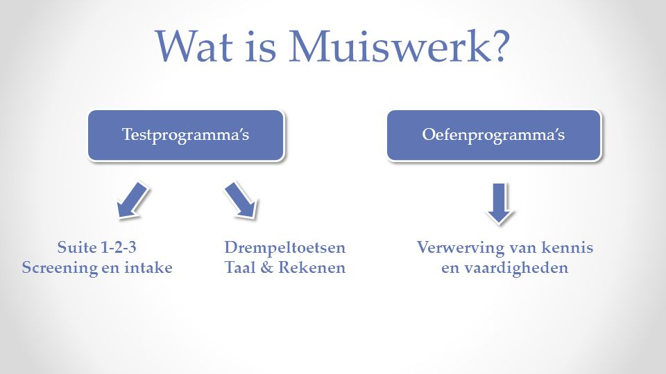 Wat is Muiswerk.