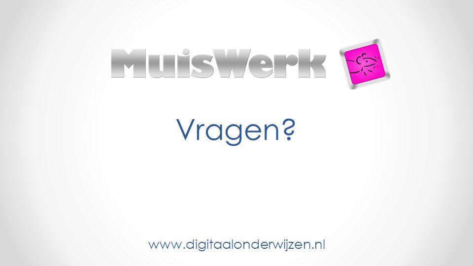 Vragen? www.digitaalonderwijzen.nl