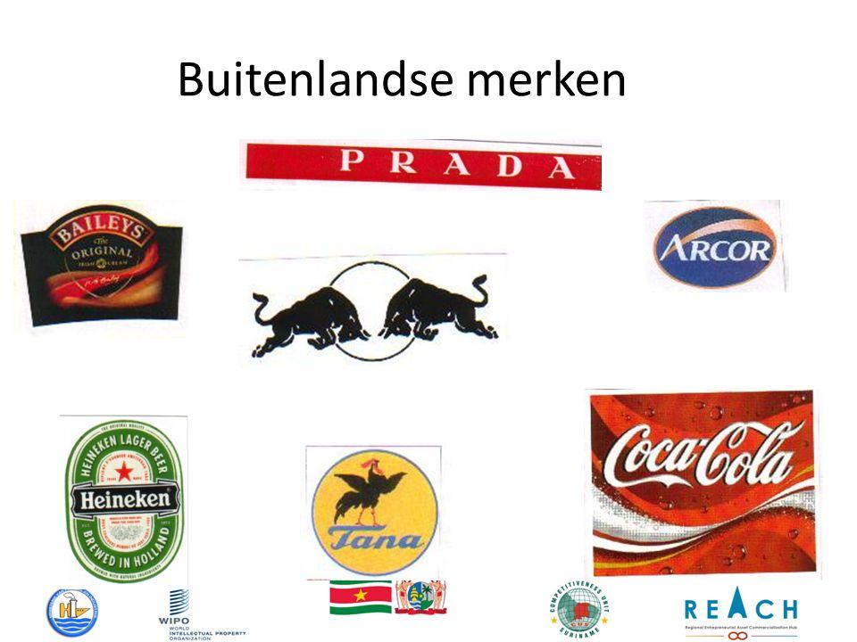 Buitenlandse merken