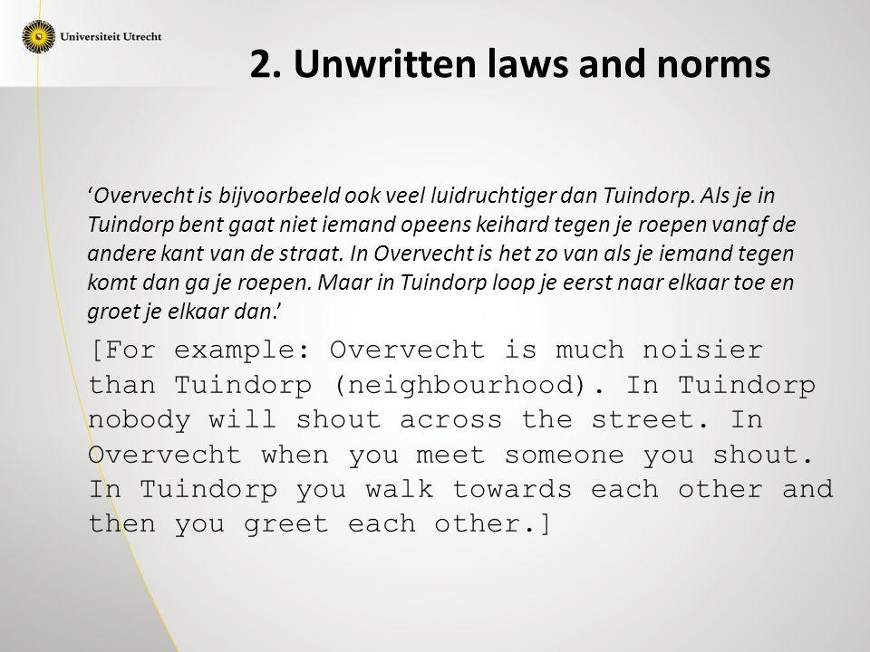 'Overvecht is bijvoorbeeld ook veel luidruchtiger dan Tuindorp.
