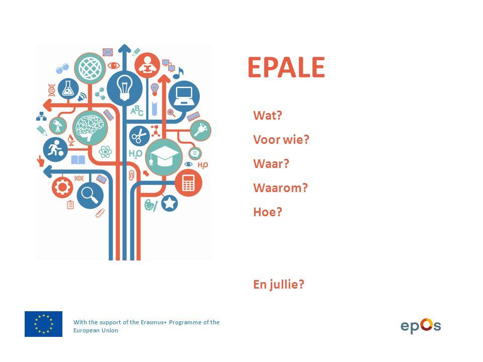 WAT is EPALE.
