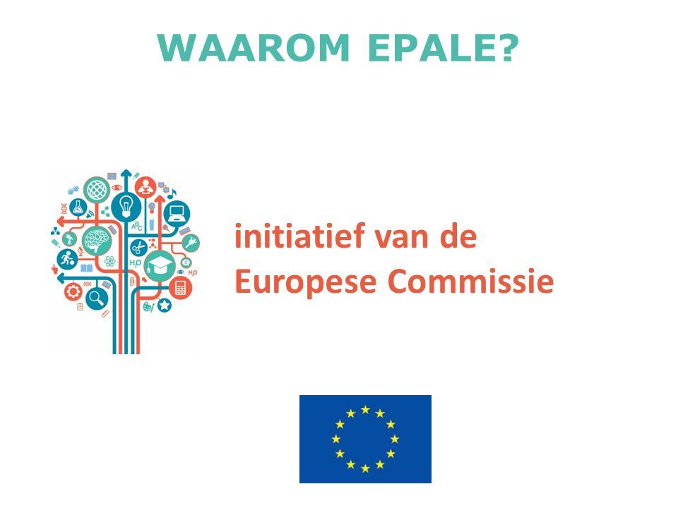 initiatief van de Europese Commissie WAAROM EPALE