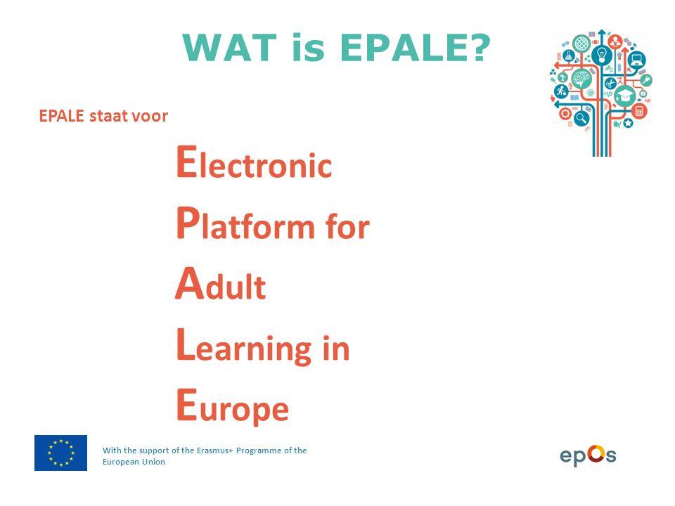 Wat je ook gaat doen, eerst inloggen Aan de slag met EPALE