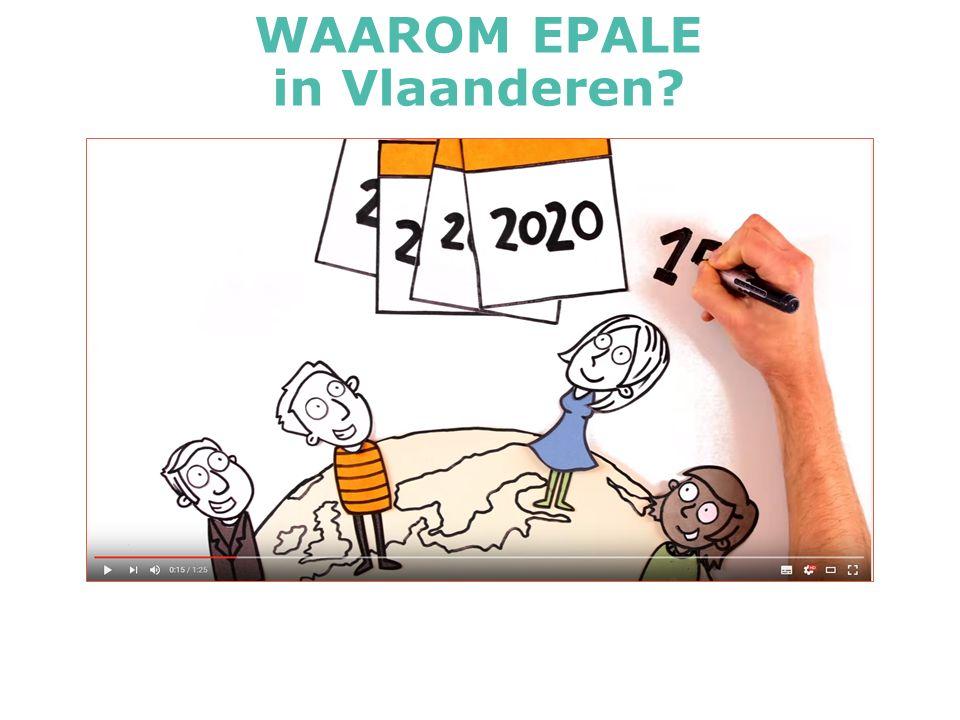 WAAROM EPALE in Vlaanderen