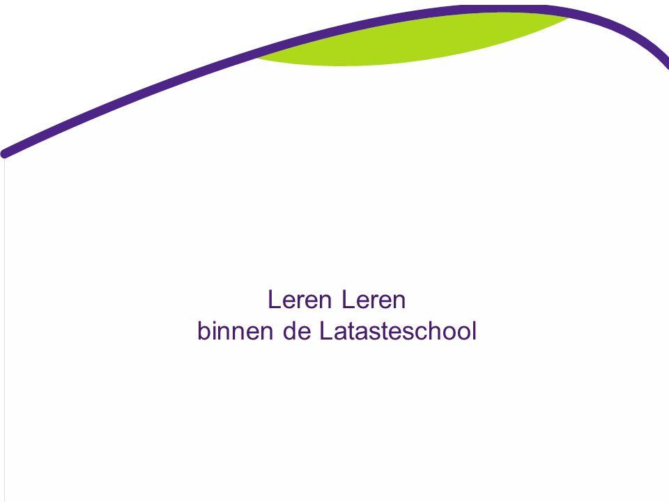 Programma themamiddag 18-03-2016: ①Leren leren binnen onze school ②Leren leren binnen de verschillende groepen ③Film over Leren Leren ④Mening van onze leerlingen ⑤Vragen.