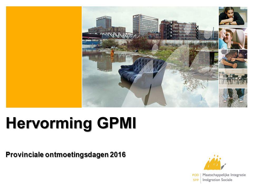 Hervorming GPMI Provinciale ontmoetingsdagen 2016