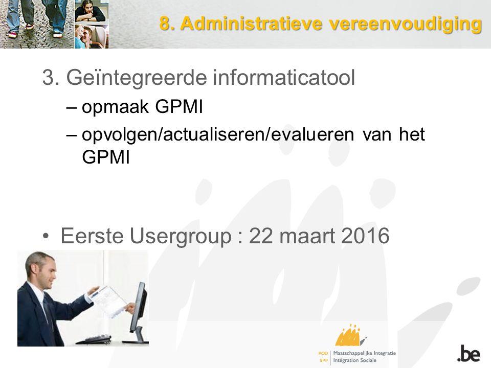 8.Administratieve vereenvoudiging 3.