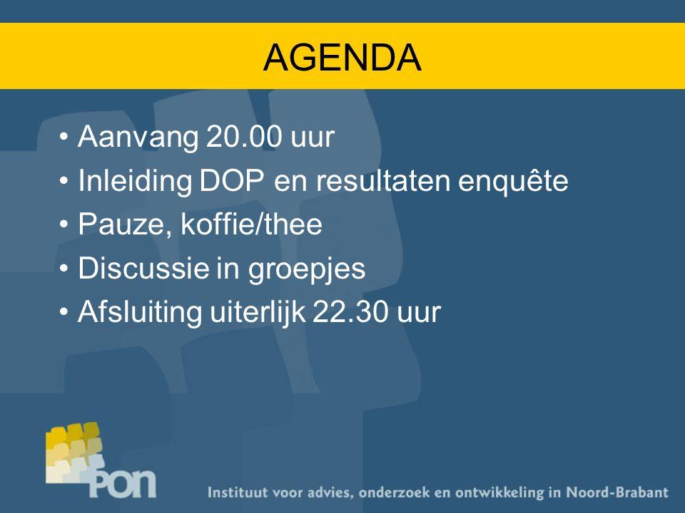 Burgers: Geven een oordeel over hun dorp Denken na over de toekomst Doen voorstellen voor acties Wat is een dorpsontwikkelingsplan?