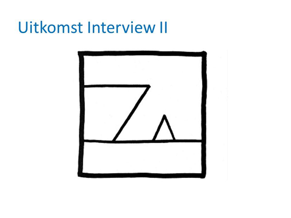 Uitkomst Interview II
