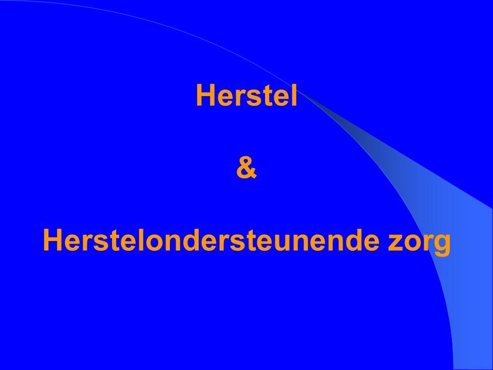 Herstel & Herstelondersteunende zorg