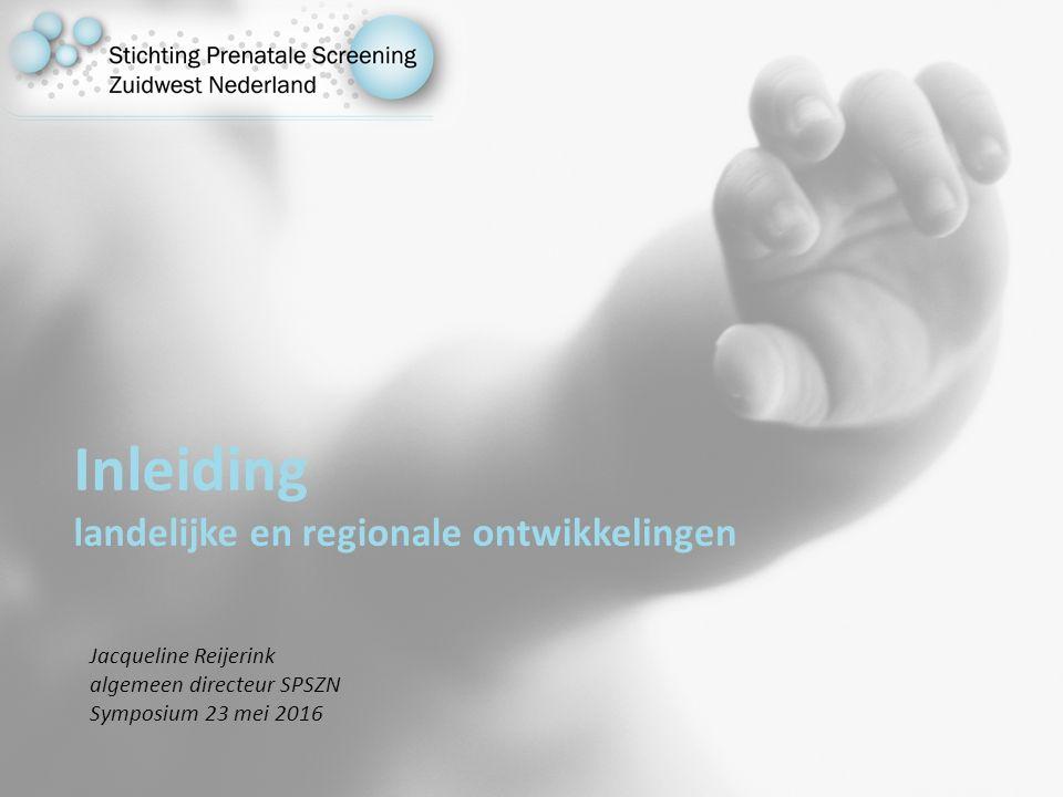 Jacqueline Reijerink algemeen directeur SPSZN Symposium 23 mei 2016